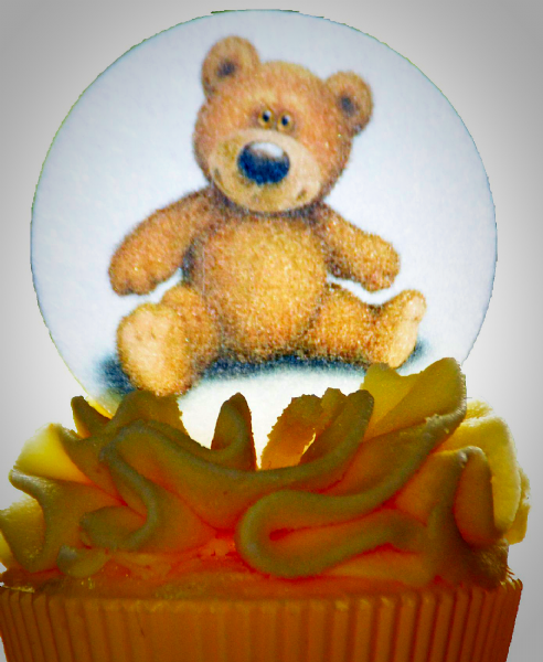 Edible cake topper Teddy Bear